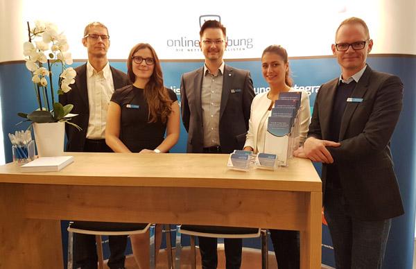 Die Netten Spezialisten auf dem Tag des Online-Marketing in Kiel.