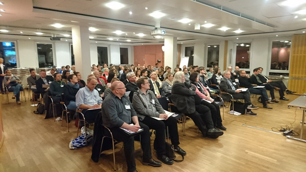Der Hörsaal der IHK zu Lübeck zum Thema Online-Marketing - wie immer gut besucht!